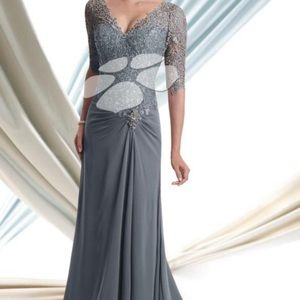 Montage by MonCheri 3/4 sleeves gown